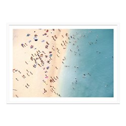 Beach Ants Framed Print