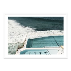 Bondi Blues Framed Print