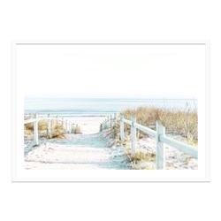Ocean Pathways Framed Print