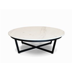 Diani 900 Faux White Marble Coffee Table