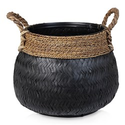 Endah Black Basket