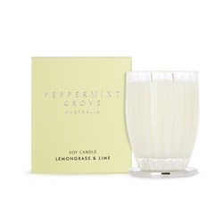 Lemongrass & Lime Large Soy Candles 350g