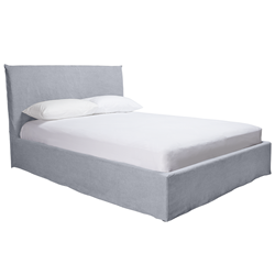 Noosa Moody Blue King Bed