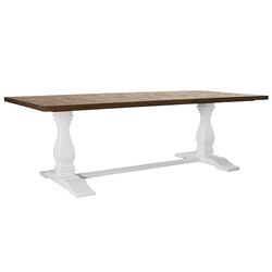 Aspen 2400 Earth Lava Dining Table