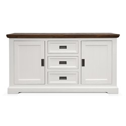 Aspen Two Tone 3Dwr Sideboard