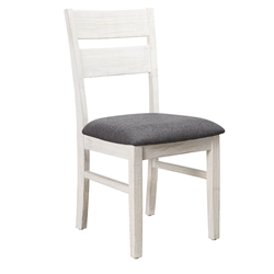 Florida Brushed White Dining Chair