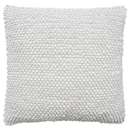 Pebble White Cushion