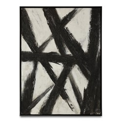 Noir Abstract II Painting