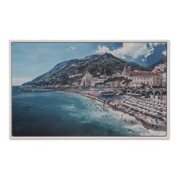 Amalfi Dream Framed Canvas