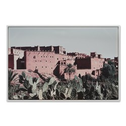 Kasbah Framed Canvas