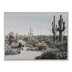 Saguaro Framed Canvas
